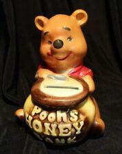 Vintage Disney Winnie The Pooh - Pooh's Honey Bank Walt Disney Productions Japan