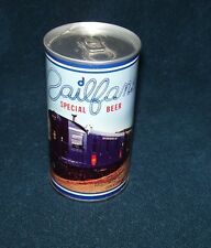 Railfans Special Beer~Restored No. 100~1978~Dom's Drive In Liquor~Beer Can~SS