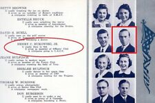 1930s CHARLES BUKOWSKI senior High School Yearbook ~ Love is a Dog from Hell ++