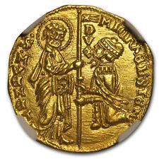 1400-1413 Venice Gold Zecchino Ducat Michele Steno MS-64 NGC