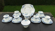 LOVELY ART DECO 21 PIECE TEA SET MADE FOR LAWLEYS REGENT STREET