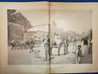 Klondike Map, Puerto Rico, Complete Issue of Harper's Weekly Oct 1, 1898