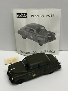 solido 1950 Chevrolet Military diecast Collection no. 4508