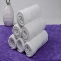 1/2/5 pcs Soft 100% Cotton White 30*60cm Hotel Bath Towel Washcloths Hand