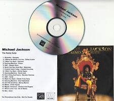 MICHAEL JACKSON The Remix Suite 2009 UK 18-track promo test CD Frankie Knuckles