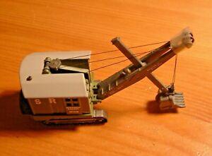 LLedo. Trackside model. Ruston-Bucyrus Heavy Front Shovel. Southern Railway.