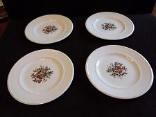 4 Vintage Bread & Butter Plates Conway by Wedgwood