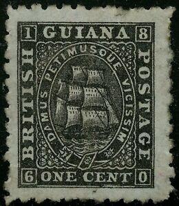 British Guiana  1866-71  Scott #   50  Mint Hinged