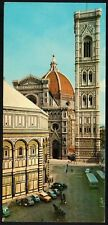 AA3650 Firenze - Battistero - Cattedrale e Campanile di Giotto - Cartolina