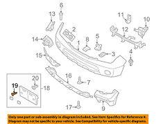 NISSAN OEM Front Bumper-License Bracket Screw 083405252A