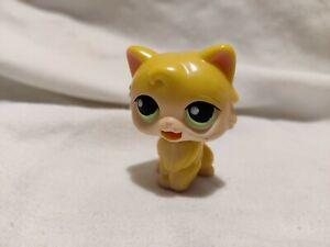 🤖 THE LITTLEST PET SHOP: Gen 1 cat green eyes rare 2005 hasbro china