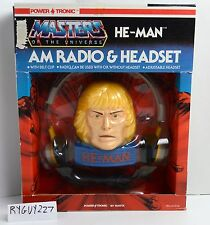 MOTU, He-Man AM Radio & Headset, Masters of the Universe, MISB, MOC, sealed