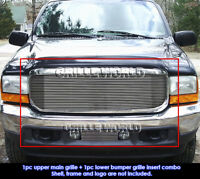 1999-2004 Ford F-250/F-350 Super Duty/Excursion Billet Grille Combo Insert