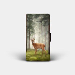 Highland Wildlife Phone Cases - Flip Covers (Puffin, Stag, Deer, Highland Cow..)