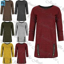 Zip Viscose 3/4 Sleeve Jumpers & Cardigans for Women