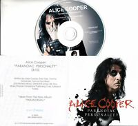 ALICE COOPER Paranoiac Personality 2017 UK 1-trk promo test CD