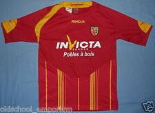 RC Lens / 2009-2010 Home - REEBOK - VTG JUNIOR Shirt / Jersey. Size: 152 cm, 12y