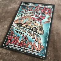 Furthur Winter Tour 2010 Truck Poster - Phil Lesh & Bob Weir - signed / M.DuBois