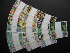 FRENCH COLONIES 23 different MNH gutter pairs, very topical stuff, check m out!