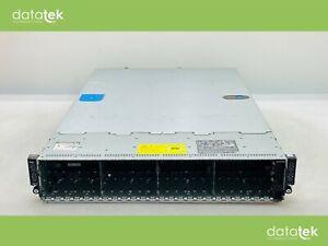 Dell POWEREDGE XC6320 - 8 x E5-2620 V3, 128GB, 24 x SFF Rack Server