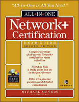 Network+ Certification All-in-one Exam Guide, Meyers, Michael, Very Good Book