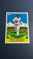 MATT HOLLIDAY 2007 TOPPS FLASHBACK FRIDAYS CARD # FF7 A8750