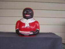 Aunt Jemima Plastic Cookie Jar Head 1950's Vintage Black Americana ~F&F~