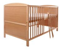 Osann Kinderbett / Gitterbett / Babybett - Kapsar Buche, 140x70 cm