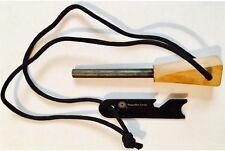Peaceful Livin' Ferro Rod FIRE STARTER Wood Handle ~Survival Flint/Steel Striker