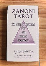 Zanoni Tarot Cards Set Deck 22 Major Arcana  Inner Journey  NEW!