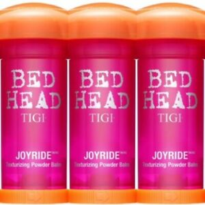 3 PACK!! TIGI BED HEAD JOYRIDE TEXURIZING LIFT VOLUME POWDER BALM 1.96 OZ VOLUME