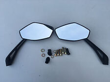 E MARKED MIRRORS TO FIT HONDA CBF600 HORNET ALL YEARS TOP QUALITY CNC STEM