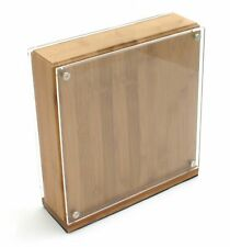 Grunwerg Large Bamboo Magnetic Knife Storage Block - Dual Sided - New