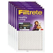 3M 02004 Filtrete Ultra Allergen Reduction Filters, 1500 Mpr, 14x25x1, 6-Pack