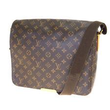 Auth Louis Vuitton Monogram Messenger Bag Brown 64GC014