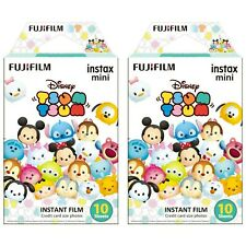 2 Packs 20 Photos Disney Tsum Tsum FujiFilm Fuji Instax Mini Film Polaroid SP-1