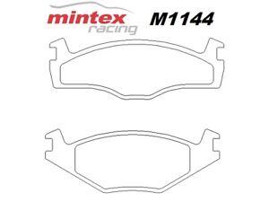 Mintex M1144 For Volkswagen Jetta 1.8 GT/GTi 85>92 Front Race Brake Pads MDB1266