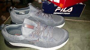 NEW IN BOX NEW SKECHERS GO Run MAX Air Stratus Gray MESH Running Shoes Size 10