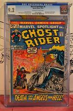 Marvel Spotlight #6 CGC 9.2 2nd Appearance Ghost Rider Marvel 1st Key