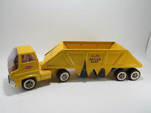Vintage 1969 Tonka Toys - Gas Turbine - Bottom Dump Tractor / Trailer - Original