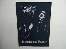 DARKTHRONE TRANSILVANIAN HUNGER SUBLIMATED BACK PATCH