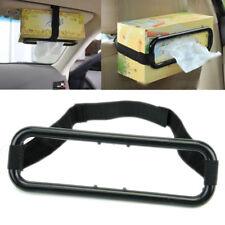 New Paper Box Holder New Car Auto Sun Visor Tissue Napkin Seat Back Clip Bracket