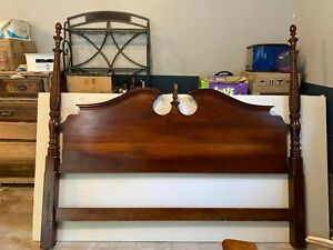 pennsylvania house bedroom four poster bed, solid wood, cherry, antique