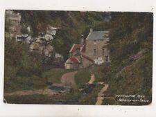 Horncliffe Mill Berwick On Tweed 1917 Postcard 670b