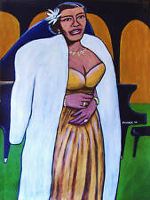 BILLIE HOLIDAY PAINTING jazz lady sings the blues cd complete recordings diva