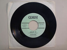 "ASCENSIONS:Forget It 2:20-All Alone 2:35-U.S.7"" 1967 Gemini G-100,PA. Garage"