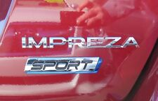 "NEW Genuine OEM Subaru Rear Badge Set ""IMPREZA Sport"" 2012 Impreza Wagon NR"