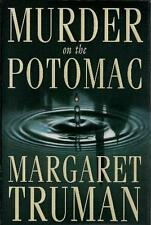 1st Edition Murder on the Potomac by Margaret Truman (1994, Hardcover)