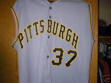 2002 TOMMY SANDT Pittsburgh Pirates game used worn jersey