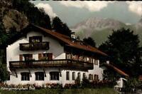 Ettal Bayern alte Ansichtskarte 1963 gelaufen Partie am BRK Mütter Genesungsheim